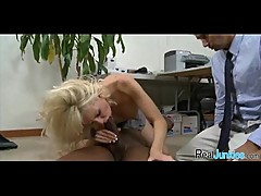 Mom makes son watch her get fucked by big black cock 227