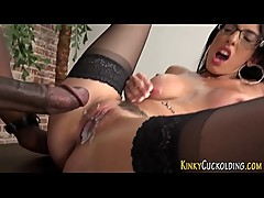 Bbc domina cum soaked