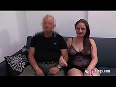 Cuckold fantasies: He dreams with her wife being fucked by a black cock