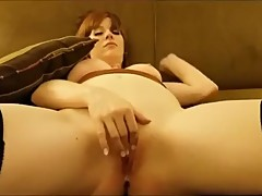 Redhead Slut Fucks Stranger Cuckold Watches her take Multiple creampies