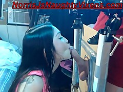 Naughty caretaker sucks starts my cock before sex Norris J &amp_ Jericha Jem