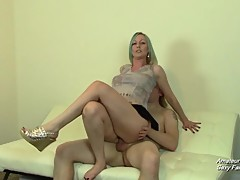 Cuckolding Girlfriend After Catching Her Riding Cock at Party