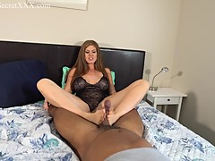 Cuckolding Wife Gives Two Cocks A Footjob - Ivy Secret