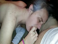 Cuckold Wife with Stranger Random Unprotected Shower Sex, Deep Throats Teen