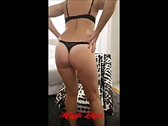 Hotwife Leticia loves to tease cuckold husband