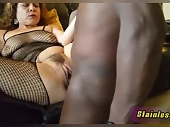 Juicy Hotwife fucks her BBC Bull and Records for Cuck Hubby