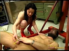 Hangings Slaves Dick With a Motor Hoist