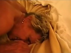 Horny Amateur Granny Cuckolding her Husband