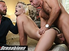Kenna James Gets Shared With Big Cock