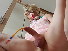 SISSY CUCKOLD FAGGOT EVIL MOMMY CATHETER CHALLENGE CH24 part1