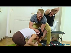Dirty Flix - Ashley Woods busted and made a cuckold