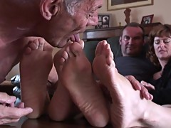 Cuckold Foot Worship