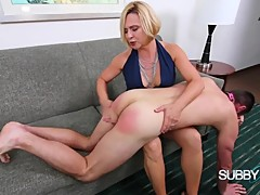 Brianna Punishes Her Cuck 1: Spanking