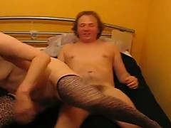 German Milf cuckold and moaning Part 2